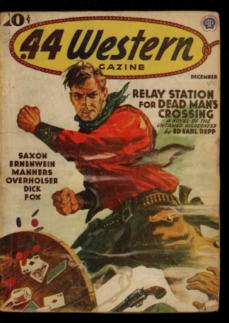 Forty-Four Western Magazine - 12/40 - Condition: G-VG - Popular