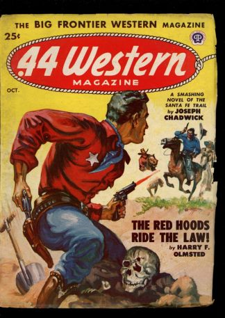Forty-Four Western Magazine - 10/48 - Condition: VG - Popular