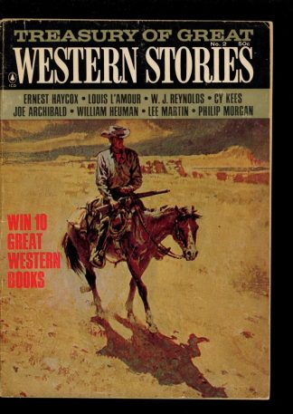 Treasury Of Great Western Stories - #6 – 1966 - Condition: G-VG - Thrilling