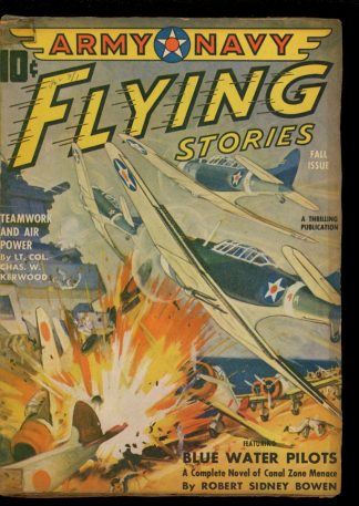 Army Navy Flying Stories - FALL/42 - Condition: G - Thrilling
