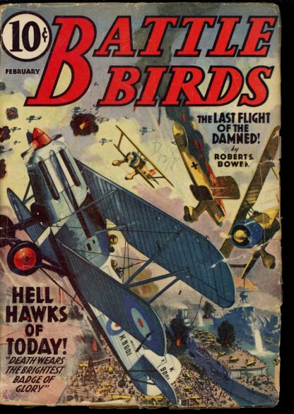 Battle Birds - 02/40 - Condition: G - Popular