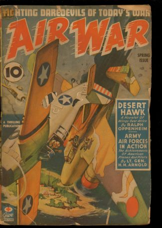 Air War - SPRING/43 - Condition: G - Thrilling