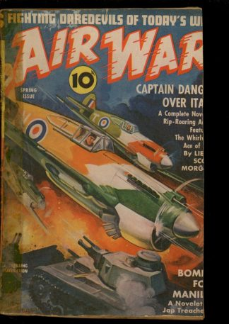 Air War - SPRING/42 - Condition: FA - Thrilling
