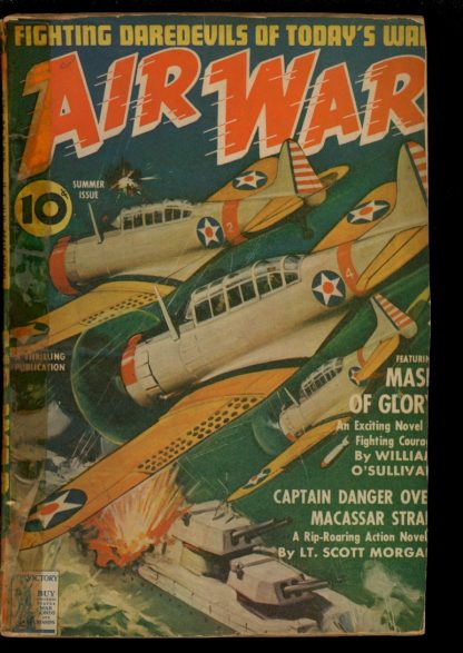 Air War - SUMMER/42 - Condition: FA - Thrilling