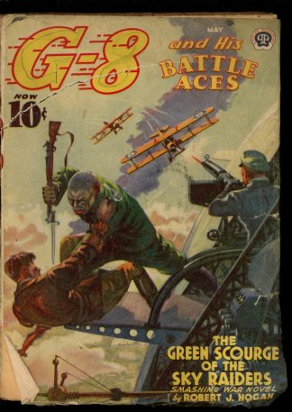G-8 And His Battle Aces - 05/40 - Condition: FA-G - Popular