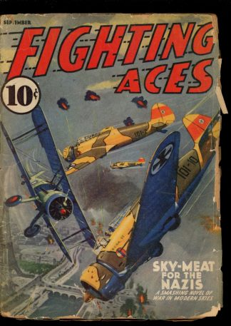 Fighting Aces - 09/40 - Condition: FA-G - Popular