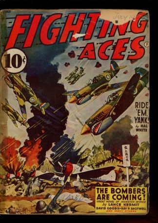 Fighting Aces - 07/42 - Condition: FA - Popular