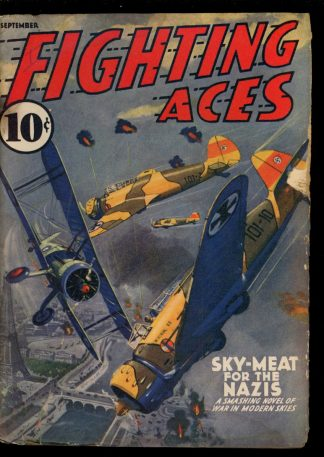 Fighting Aces - 09/40 - Condition: G - Popular