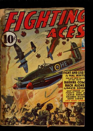 Fighting Aces - 11/42 - Condition: FA - Popular