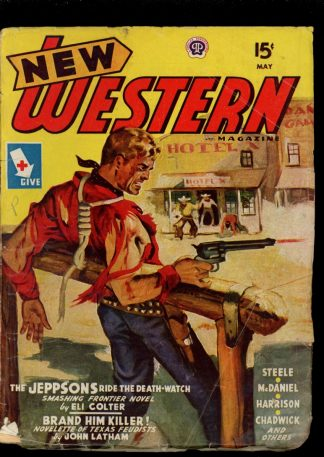 New Western Magazine - 05/45 - Condition: G-VG - Popular