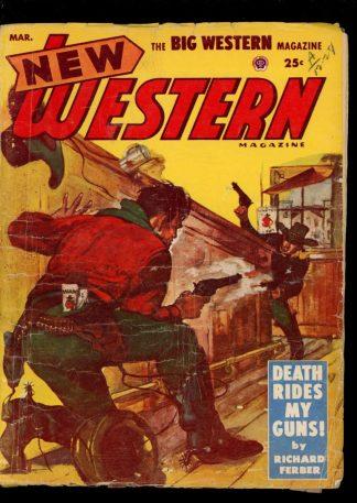 New Western Magazine - 03/54 - Condition: G-VG - Popular