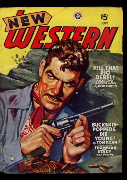 New Western Magazine - 07/46 - Condition: VG - Popular