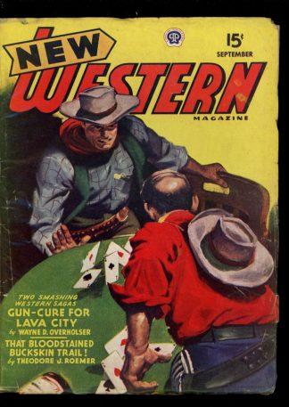 New Western Magazine - 09/45 - Condition: VG - Popular