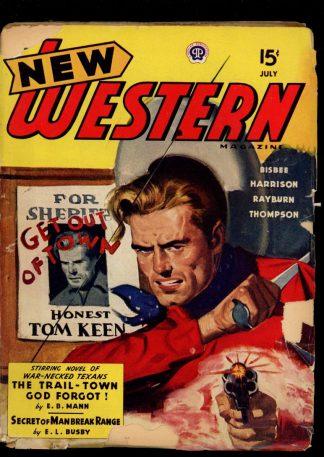 New Western Magazine - 07/44 - Condition: G - Popular