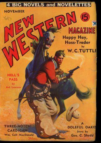 New Western Magazine - 11/34 - Condition: G-VG - Popular