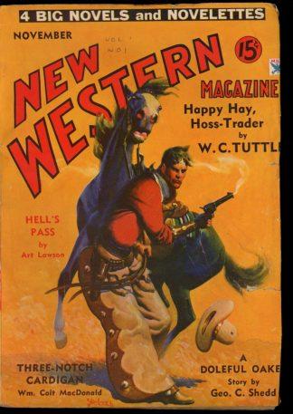 New Western Magazine - 11/34 - Condition: VG - Popular