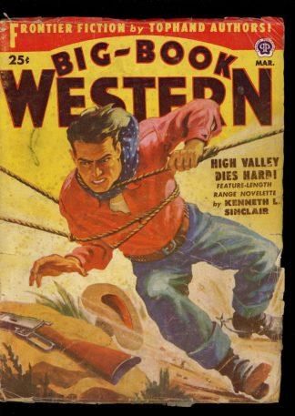 Big-Book Western Magazine - 03/52 - Condition: G-VG - Popular