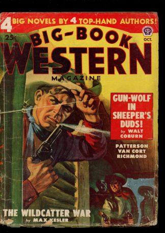 Big-Book Western Magazine - 10/48 - Condition: G-VG - Popular
