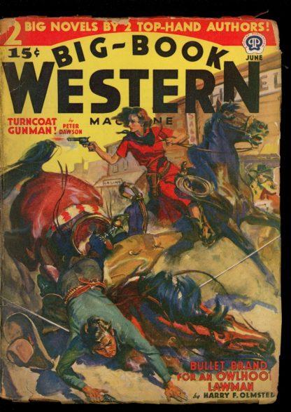 Big-Book Western Magazine - 06/40 - Condition: G-VG - Popular