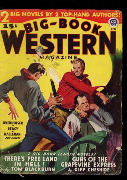 Big-Book Western Magazine - 02/46 - Condition: G-VG - Popular