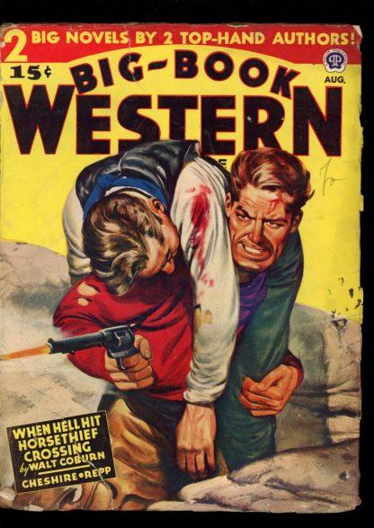 Big-Book Western Magazine - 08/46 - Condition: G-VG - Popular