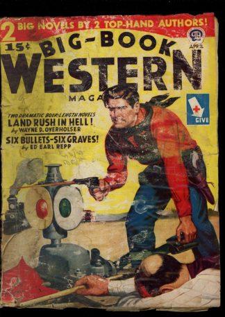 Big-Book Western Magazine - 04/45 - Condition: FA - Popular