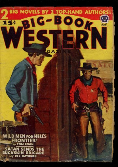 Big-Book Western Magazine - 12/45 - Condition: G-VG - Popular