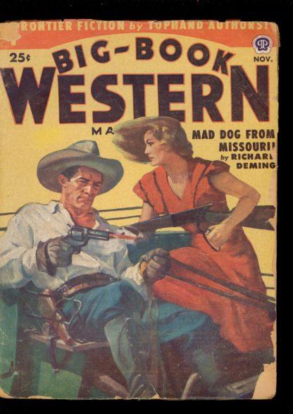 Big-Book Western Magazine - 11/51 - Condition: G - Popular