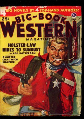 Big-Book Western Magazine - 06/48 - Condition: VG - Popular
