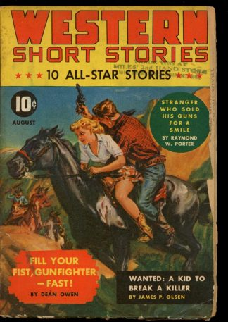 Western Short Stories - 08/42 - Condition: G - Red Circle