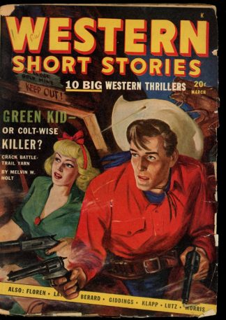 Western Short Stories - 03/48 - Condition: VG - Red Circle