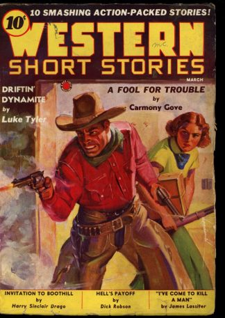 Western Short Stories - 03/38 - Condition: G-VG - Red Circle