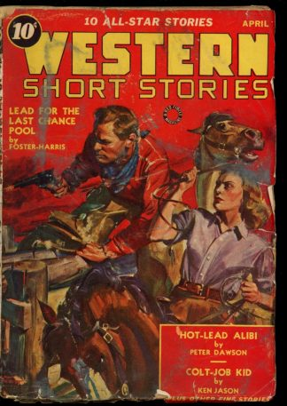 Western Short Stories - 04/40 - Condition: G - Red Circle