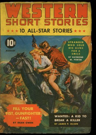 Western Short Stories - 08/42 - Condition: G-VG - Red Circle