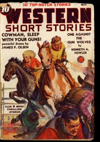 Western Short Stories - 05/39 - Condition: G - Red Circle