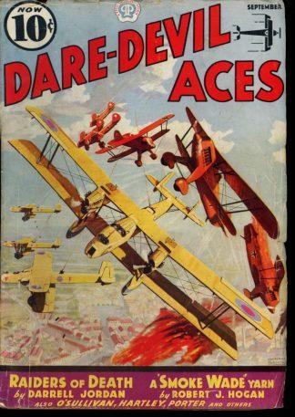 Dare-Devil Aces - 09/37 - Condition: VG - Popular