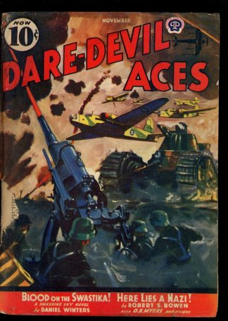 Dare-Devil Aces - 11/40 - Condition: FA-G - Popular