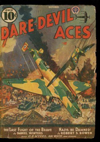 Dare-Devil Aces - 10/40 - Condition: G-VG - Popular