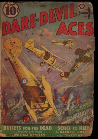 Dare-Devil Aces - 06/39 - Condition: FA - Popular