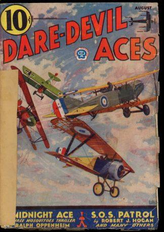 Dare-Devil Aces - 08/33 - Condition: FA-G - Popular