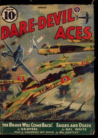Dare-Devil Aces - 03/40 - Condition: G - Popular