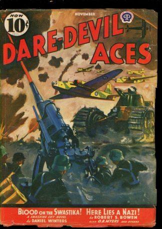 Dare-Devil Aces - 11/40 - Condition: VG - Popular