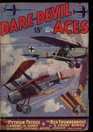 Dare-Devil Aces - 07/35 - Condition: G - Popular