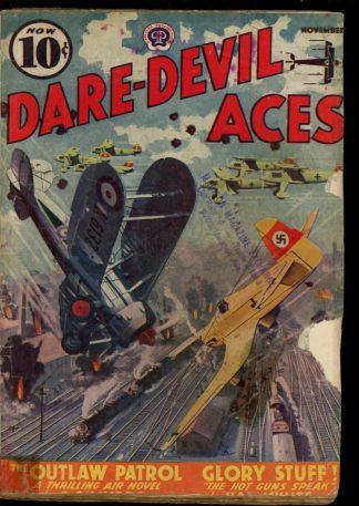 Dare-Devil Aces - 11/38 - Condition: FA - Popular