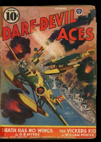 Dare-Devil Aces - 09/40 - Condition: FA-G - Popular