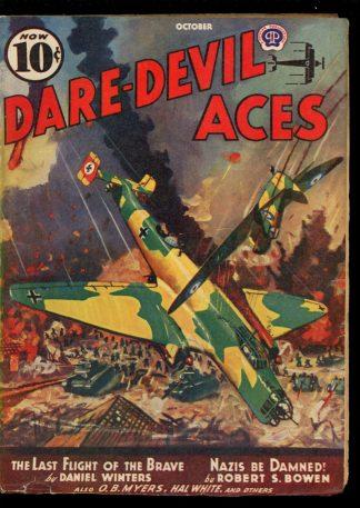 Dare-Devil Aces - 10/40 - Condition: VG - Popular