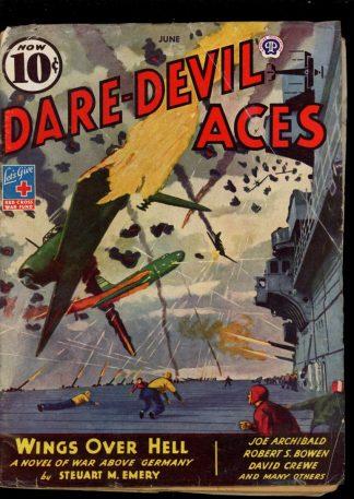 Dare-Devil Aces - 06/44 - Condition: VG - Popular