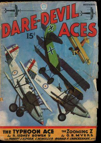 Dare-Devil Aces - 12/35 - Condition: G - Popular