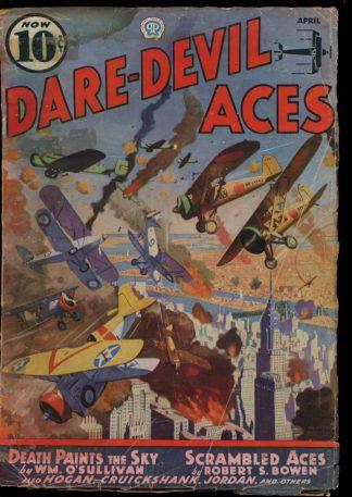 Dare-Devil Aces - 04/37 - Condition: G - Popular