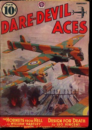 Dare-Devil Aces - 02/38 - Condition: G-VG - Popular
